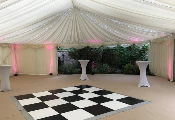 Surbiton wedding marquee hire
