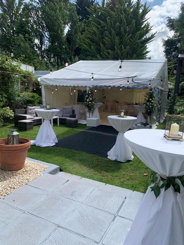 Surrey wedding marquee hire
